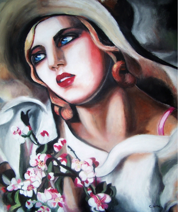 Tamara de Lempicka par claudie02